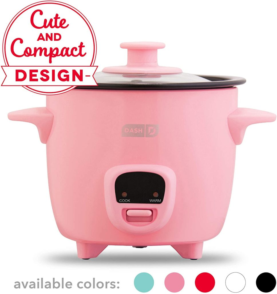 Dash Mini Rice Cooker Steamer With Removable Nonstick Pot​_
