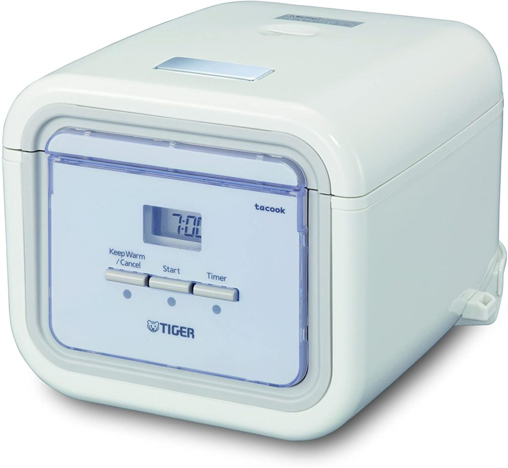 Tiger Jaj-a55u Ws 3-cup (Uncooked) Micom Rice Cooker With Slow Cook